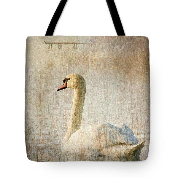 Songs Of A Swan Tote Bag