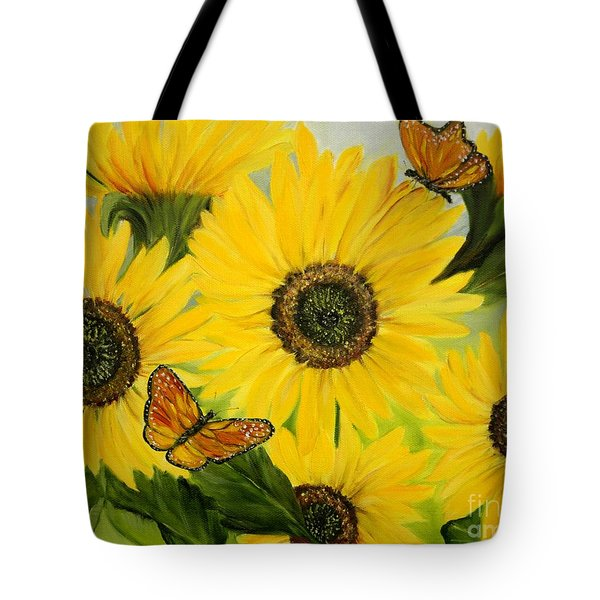 Tote Bag featuring the painting Dreaming Of Summer by Carol Sweetwood