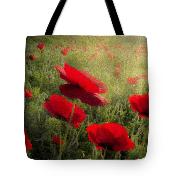 Dreaming Of The Morning Tote Bag by Debra and Dave Vanderlaan