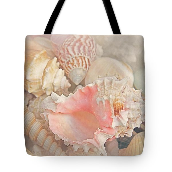 Dreaming Of The Seashore Tote Bag by Elizabeth Budd