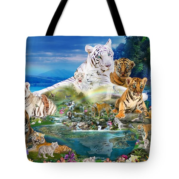 Dreaming Of Tigers  Variation  Tote Bag