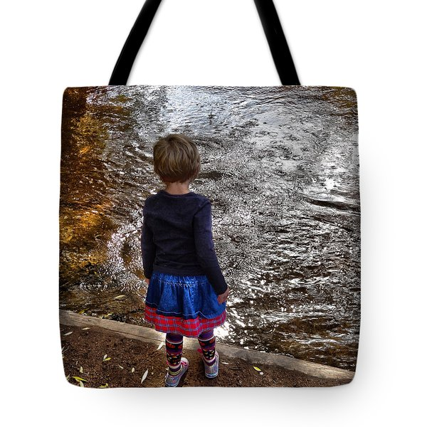Tote Bag featuring the photograph Dreaming On Water					 by Lanita Williams