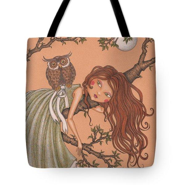 Dreaming Tote Bag by Snezana Kragulj