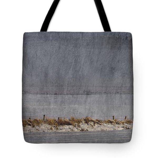 Dreaming Winter Tote Bag by Liz  Alderdice