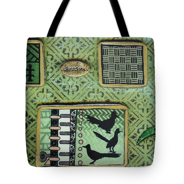Dreams Collage Tote Bag