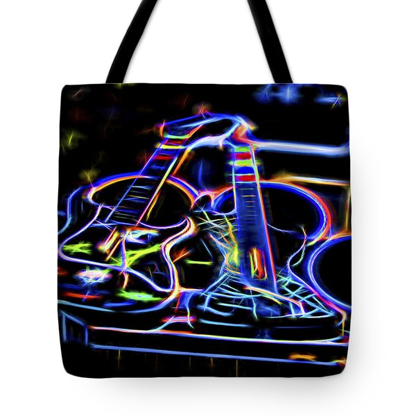 Dreams Of Music Tote Bag