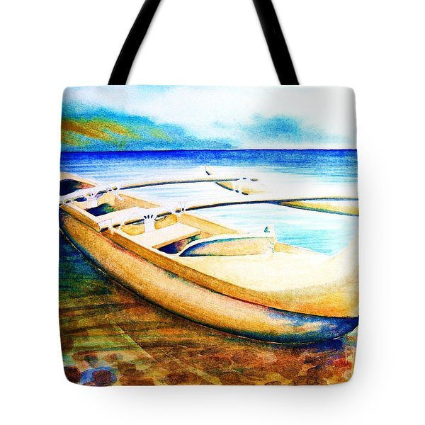 Dreams Of Polynesia Tote Bag