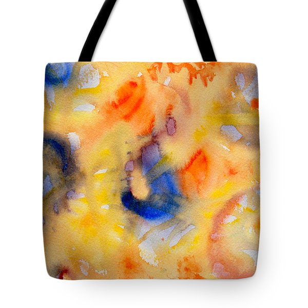 Tote Bag featuring the painting Dream In Color by Dee Dee  Whittle