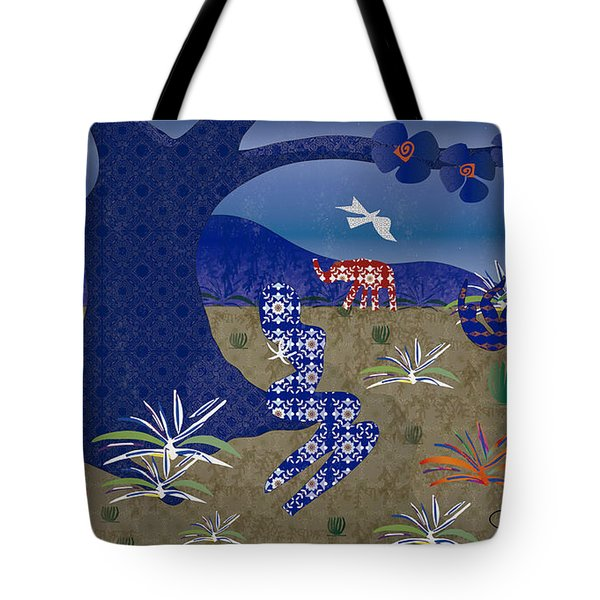Dreamscape - Limited Edition  Of 30 Tote Bag by Gabriela Delgado