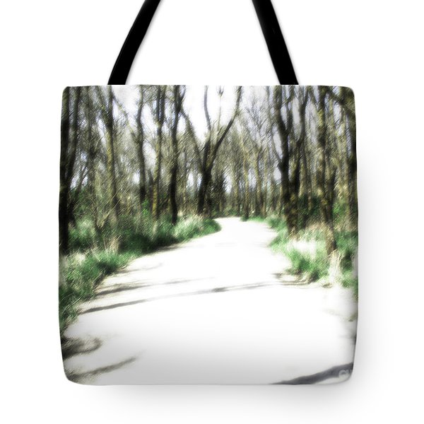Dreamy Autumn Walk Tote Bag by Rich Collins