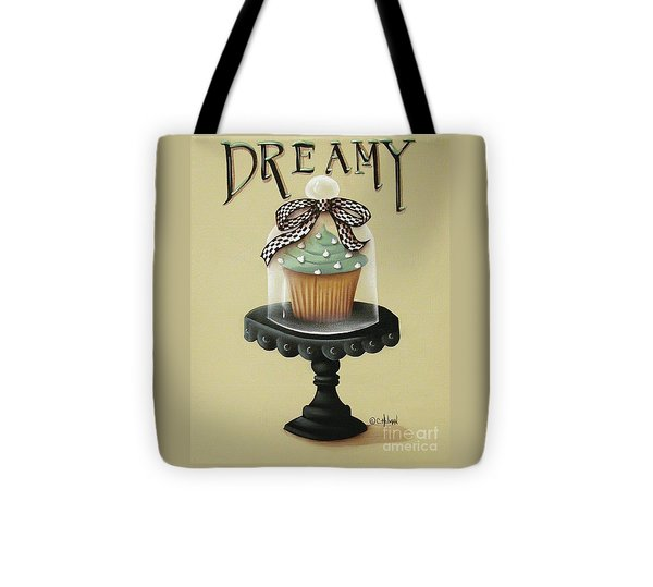 Dreamy Cupcake Tote Bag by Catherine Holman