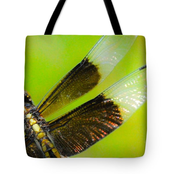 Dreamy Dragonfly Tote Bag by Cheryl McClure