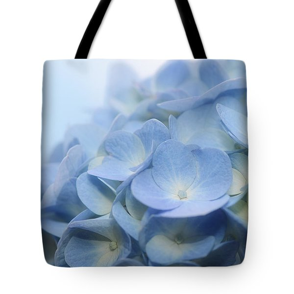 Tote Bag featuring the photograph Dreamy Hydrangea by Lisa Knechtel
