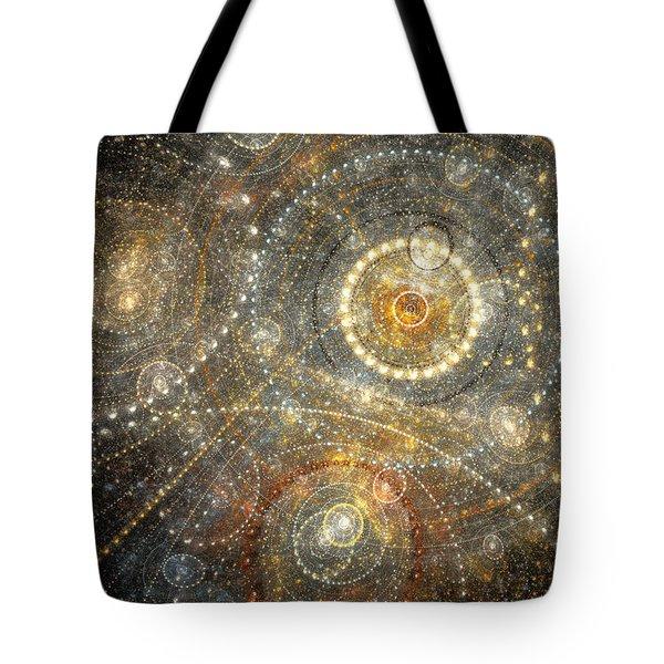 Dreamy Orrery Tote Bag by Martin Capek