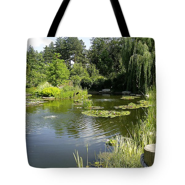 Dreamy Pond Tote Bag