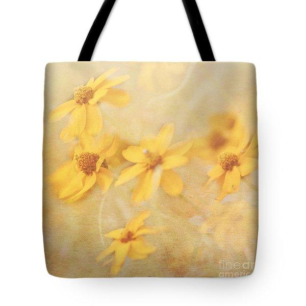 Dreamy Yellow Coreopsis Tote Bag