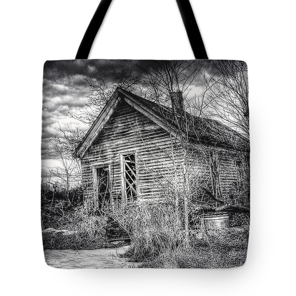 Dreary Dark And Gloomy Tote Bag