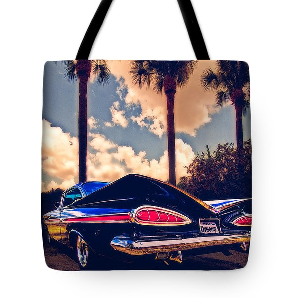 Dreemy 59 Impala - How Do U Live W/o It? Tote Bag
