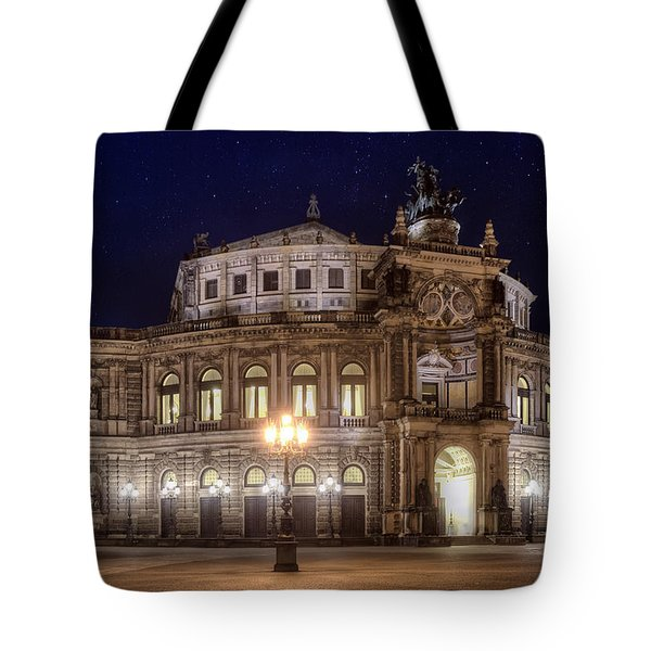 Dresden Semperopera Tote Bag by Steffen Gierok