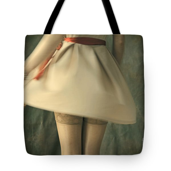 Dress Twirl Tote Bag
