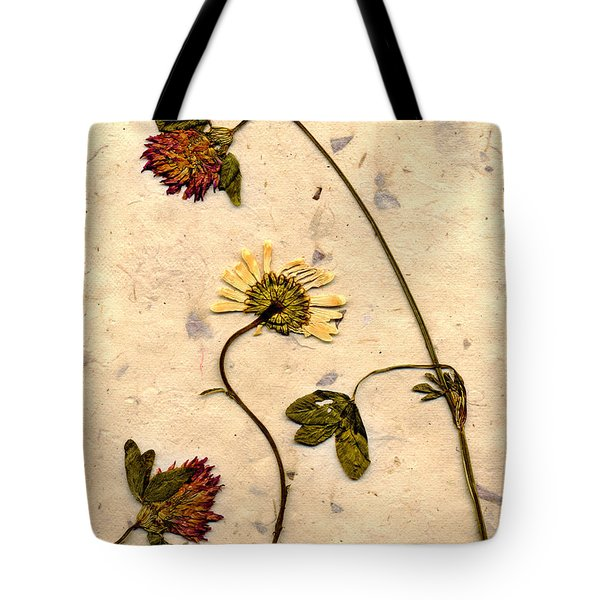 Dried Flowerrs 1 Tote Bag