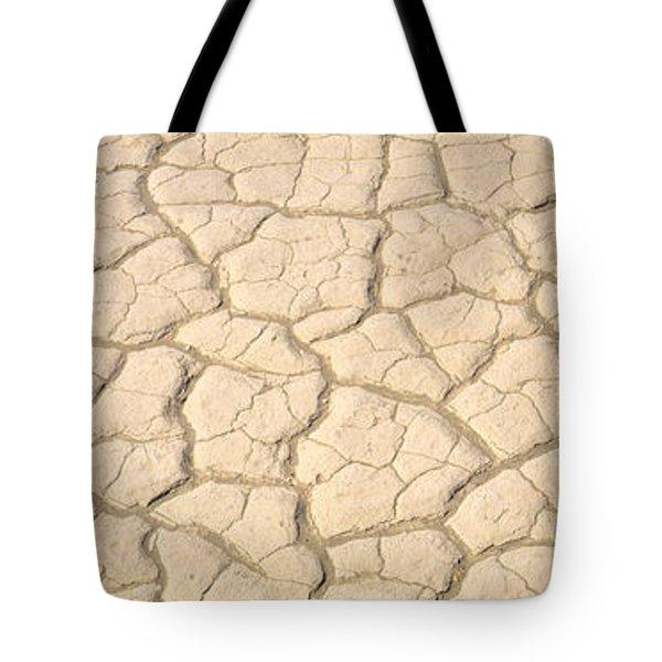 Dried Mud Death Valley Ca Usa Tote Bag