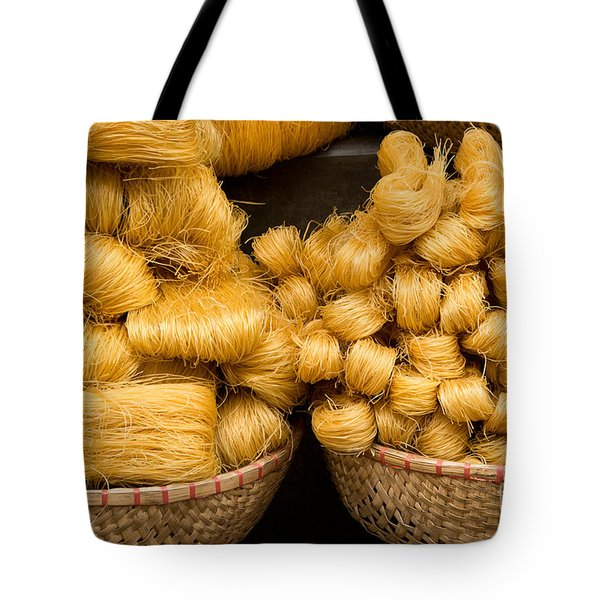 Dried Rice Noodles 02 Tote Bag