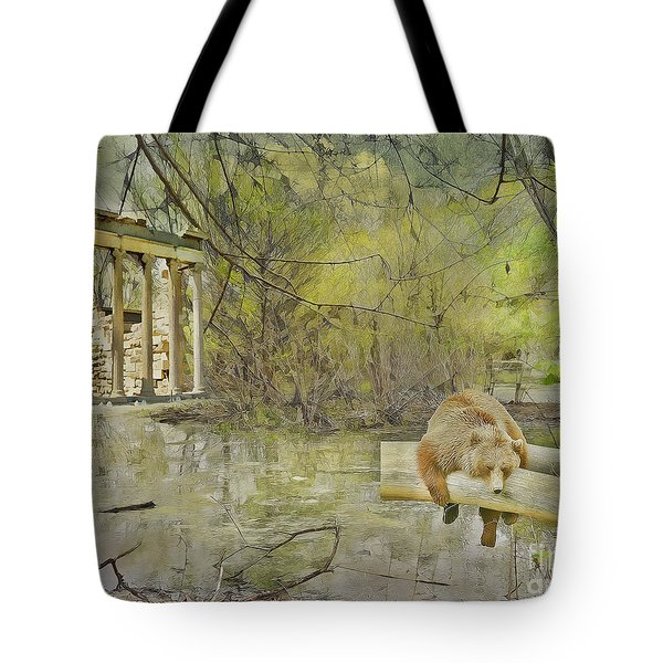 Drifter Tote Bag by Liane Wright