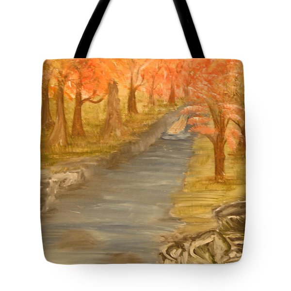 Drifting Away Tote Bag