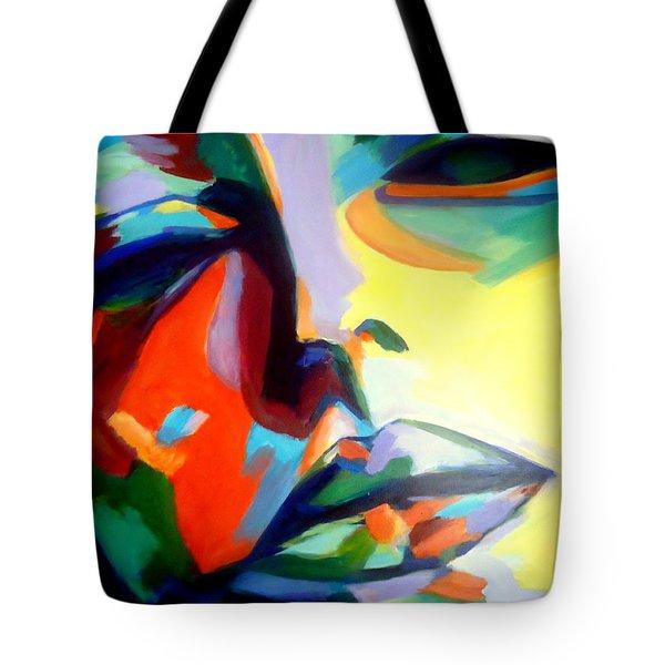 Drifting Into A Dream Tote Bag by Helena Wierzbicki