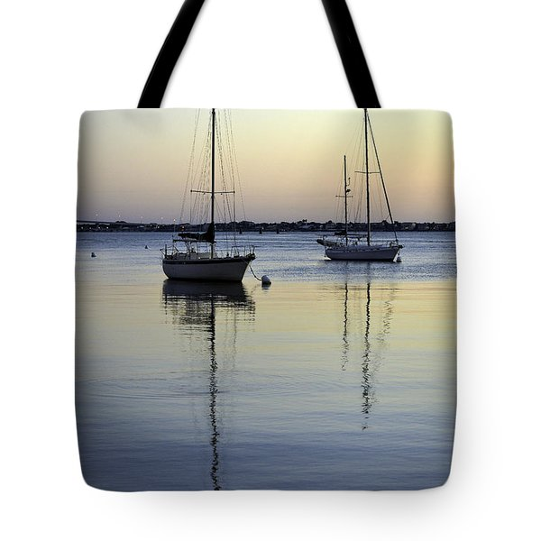 Drifting Sunrise Tote Bag