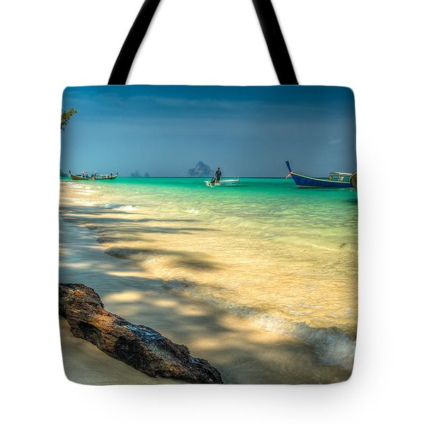 Driftwood Tote Bag by Adrian Evans