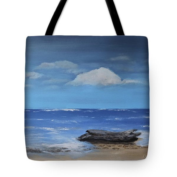 Driftwood Tote Bag by Dick Bourgault