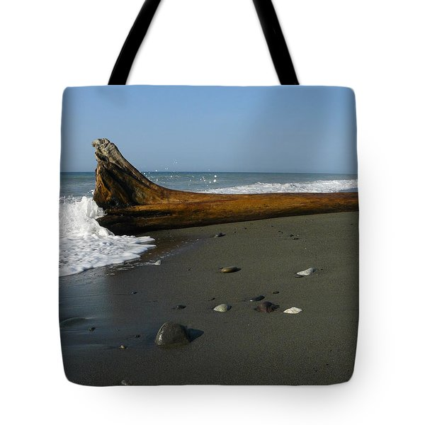 Tote Bag featuring the photograph Driftwood by Jane Ford