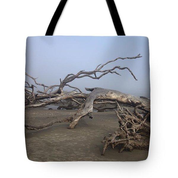 Driftwood Trees On Jekyll Island Tote Bag