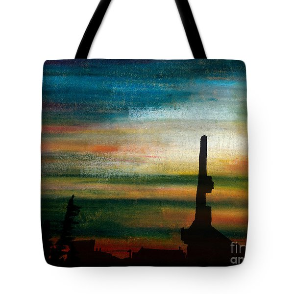 Drilling North Tote Bag