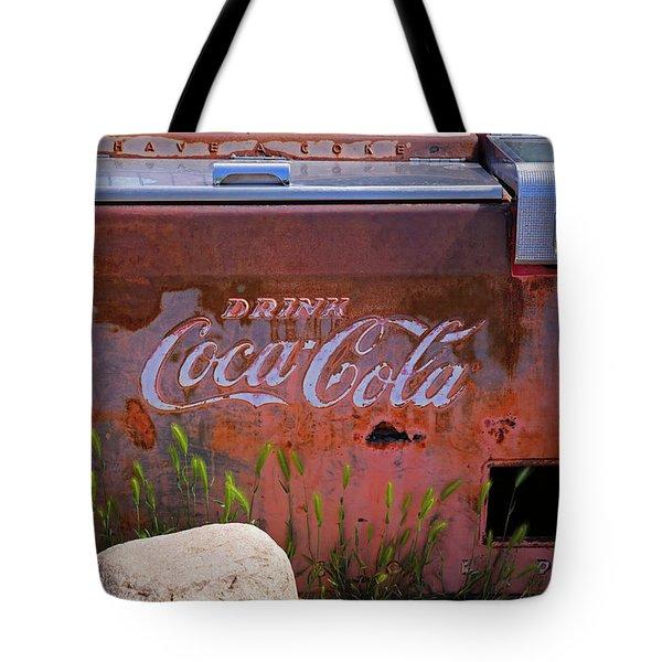 Drink Coca Cola Tote Bag by Lynn Sprowl