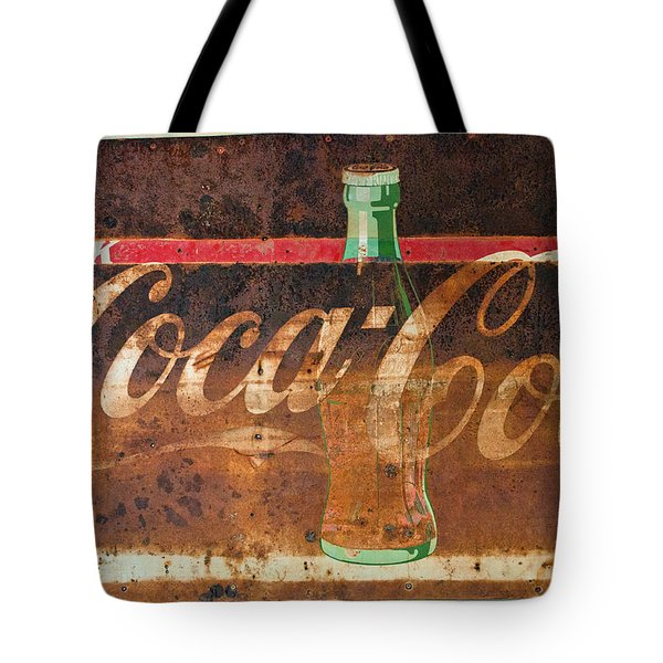 Drink Coca-cola Tote Bag by Tikvah's Hope