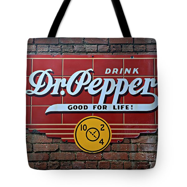 Drink Dr. Pepper - Good For Life Tote Bag