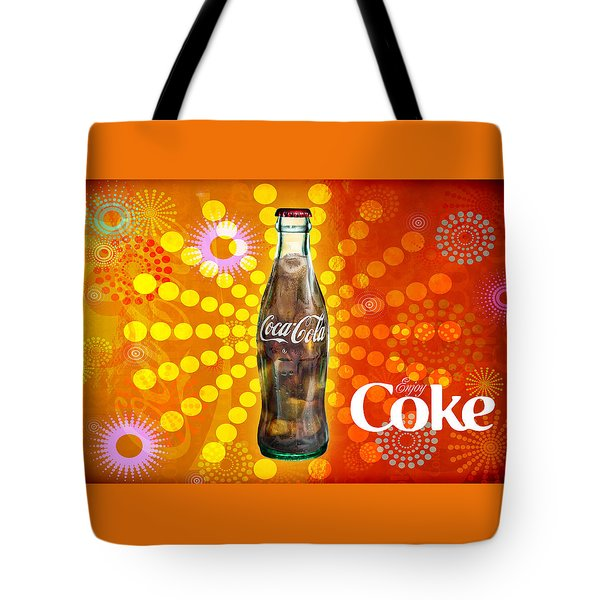 Tote Bag featuring the photograph Drink Ice Cold Coke 4 by James Sage