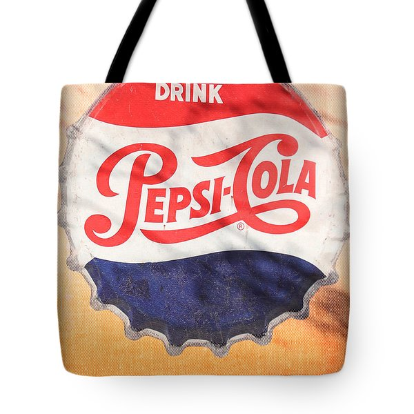 Drink Pepsi  Tote Bag