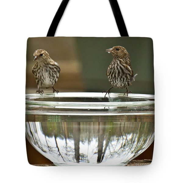 Drink Up Tote Bag by Robert L Jackson