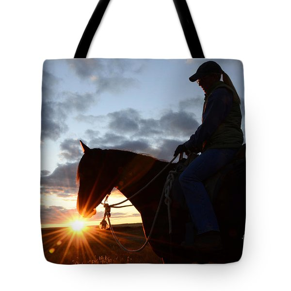 Drinking In The Light Tote Bag by Bob Christopher