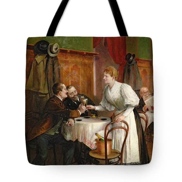 Drinking Their Health Tote Bag