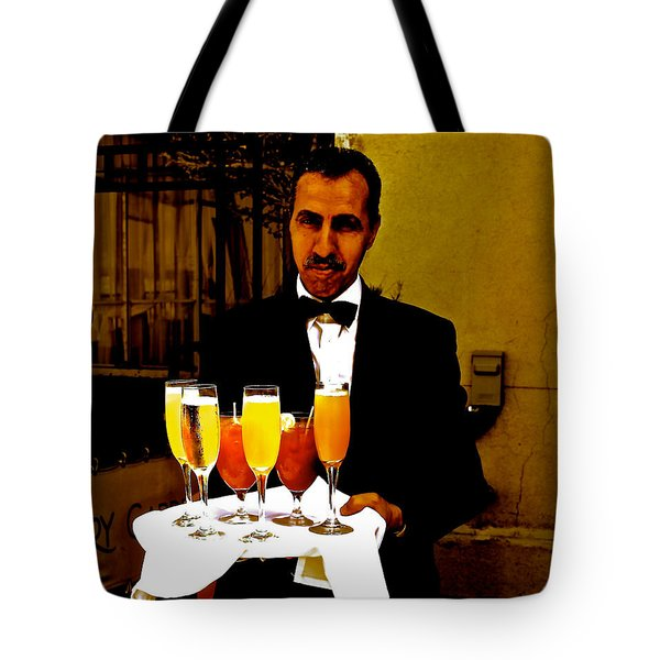 Drinks Anyone? Tote Bag by Christy Gendalia