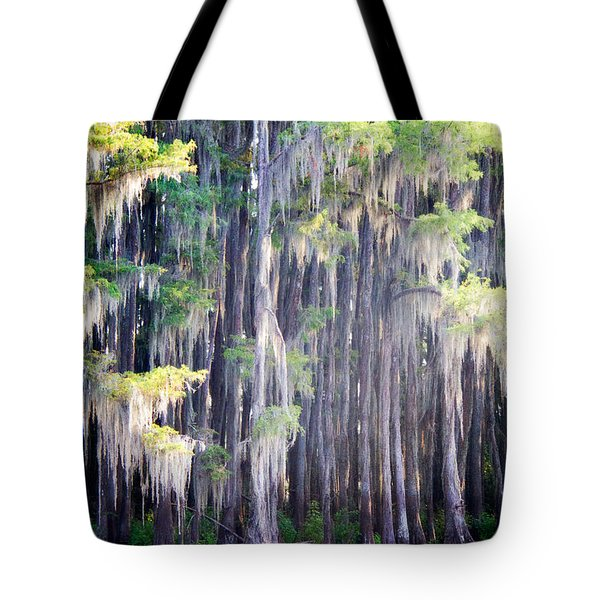 Dripping Moss Tote Bag