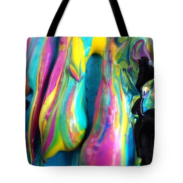 Dripping Paint #3 Tote Bag