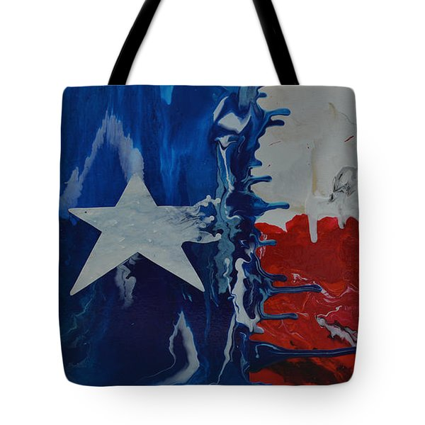 Drips Of Texas Color Tote Bag