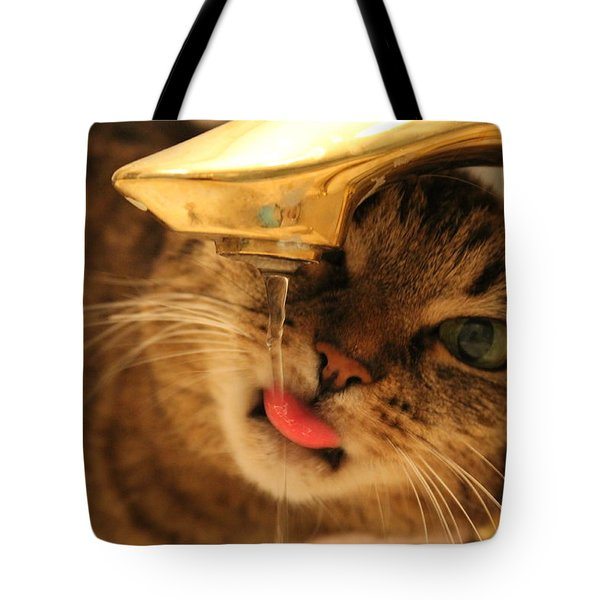 Drips On The Tongue Tote Bag by Catie Canetti