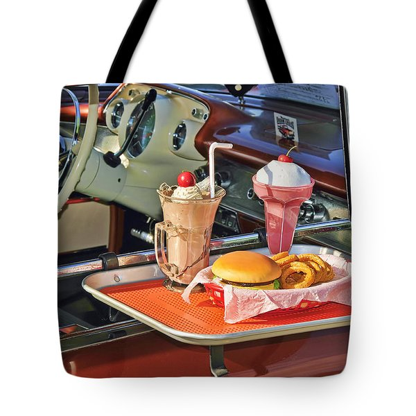 Drive-in Memories Tote Bag by Kenny Francis